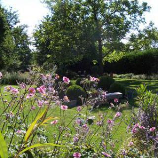 Le jardin Chantepleure