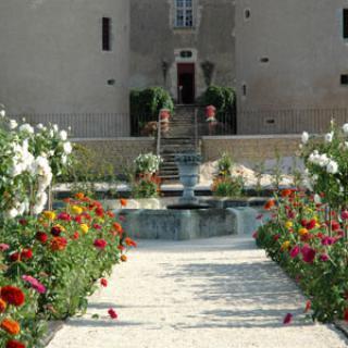 Jardin du Château de Corbelin