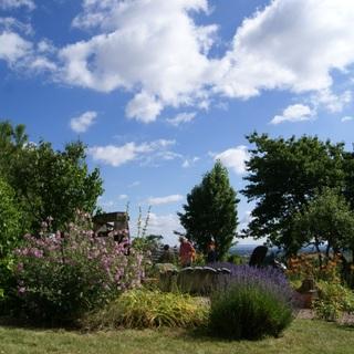 Le jardin du Moyen-Age de St Haon le Châtel