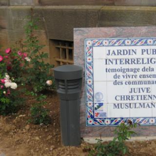 JARDIN PUBLIC INTERRELIGIEUX
