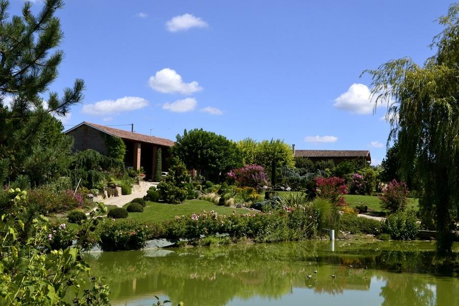 Le jardin de Laroque