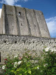 Jardin d'inspiration médiévale du donjon de Loches