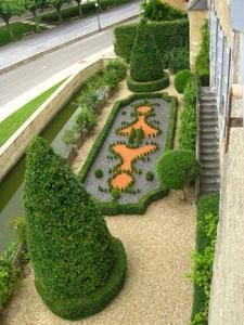 Les jardins du château de Gardères