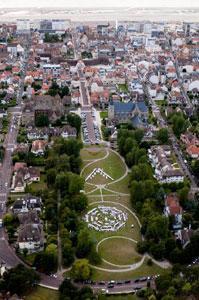JARDIN DE LA MANCHE - Circuit de visite des jardins en ville