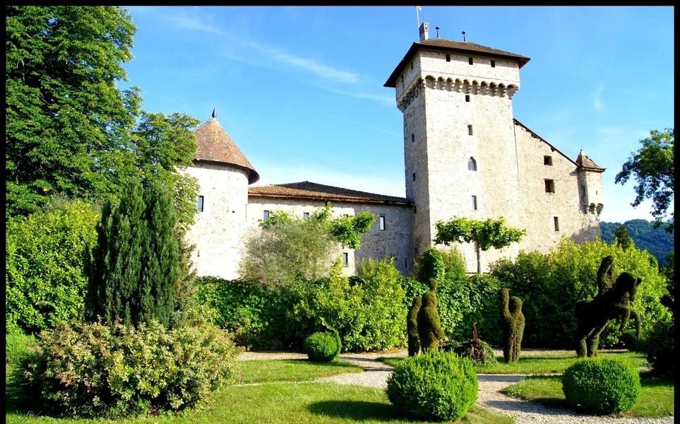 Parc du château Saint Michel d'Avully
