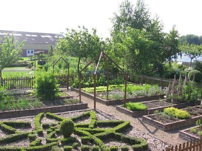 Jardin du site d'enseignement agricole de Douai