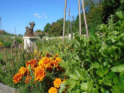 Les Vergers-Potagers de Montigny et le parc