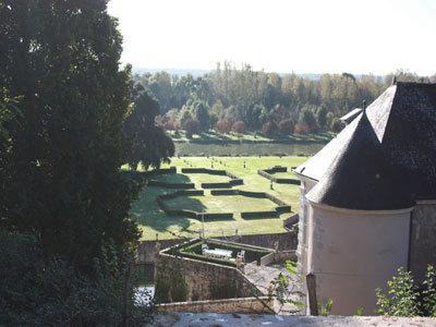 Parc et Jardins du château de Saint Denis sur Loire