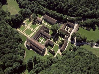 Jardin de l'Abbaye de Fontenay