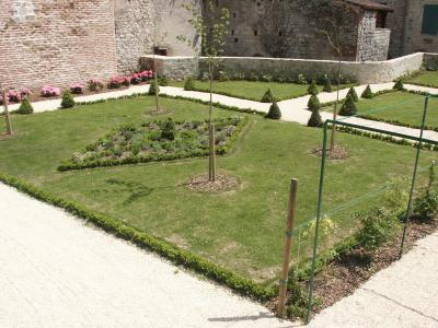 Jardin du presbytère de Luzech