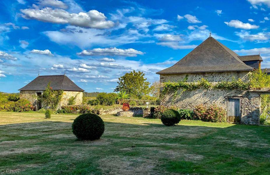 Jardin du Château de Mesplès