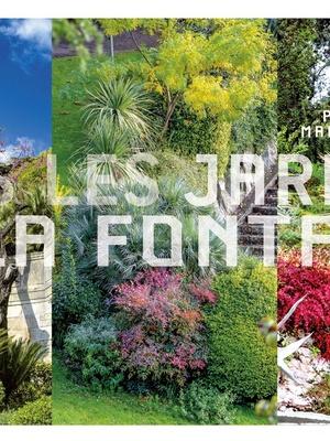 Dans les Jardins de la Fontaine de Nîmes.