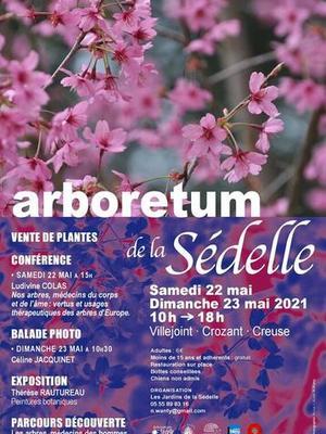 Arboretum de la Sédelle - Journées des plantes mai 2021