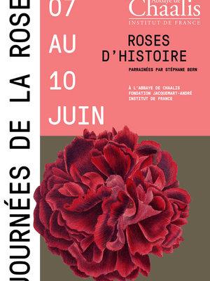 18èmes JOURNÉES DE LA ROSE à Chaalis