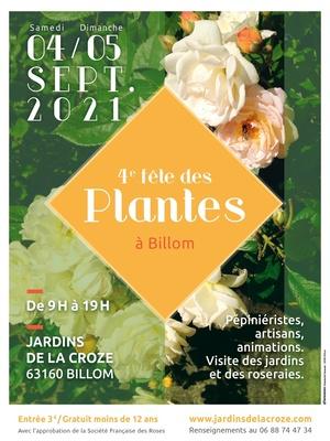4eme Fête des Plantes aux Jardins de La Croze