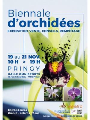 Biennale d'Orchidées à Pringy