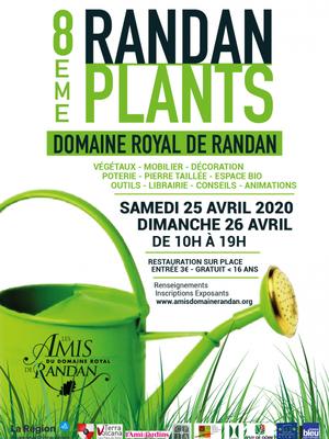 ANNULATION 8eme Randanplants à Randan