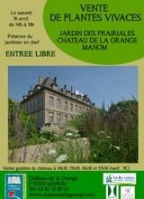 Vente de plantes vivaces Jardin des Prairiales Château de la Grange