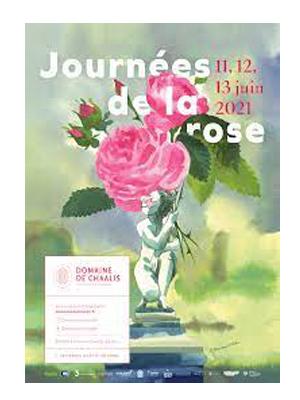 Journée de la rose à Chaalis
