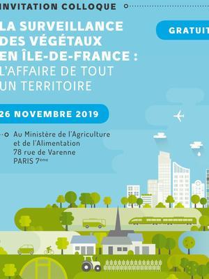 La surveillance des végétaux en Île-de-France : l'affaire de tout un territoire.
