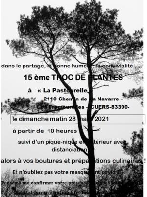 15 ème TROC DE PLANTES