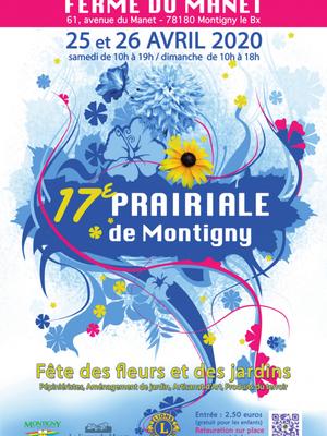ANNULATION 17e Prairiale de Montigny