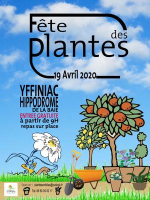 Fête des plantes 2020 à Yffiniac