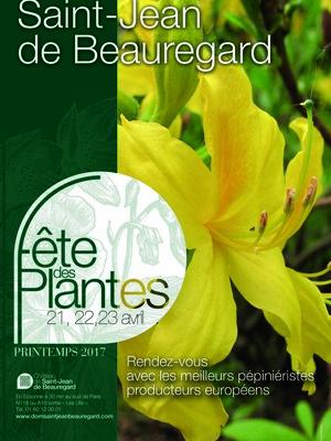 Fête des Plantes de Printemps 2017 St Jean de Beauregard
