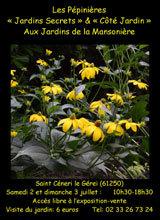 Pépinière Jardins Secrets à la Mansonière