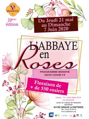 La Vie en Roses à l'Abbaye de Valsaintes