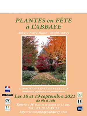 Fête des Plantes à l'Abbaye d'Autrey