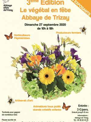 Le Végétal en Fête à l'Abbaye de Trizay