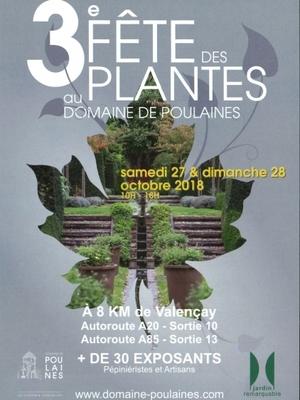 3 ème Fête des Plantes au Domaine des Poulaines