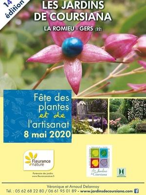 14ème journée des plantes et de l'artisanat aux Jardins de Coursiana