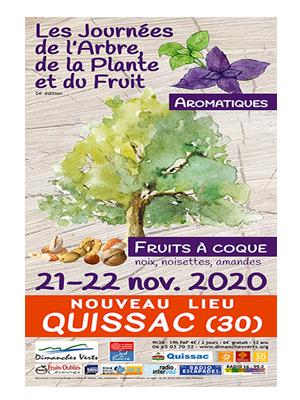 Dimanches Verts Journées de l'Arbre, de la Plante et du Fruit 2020 : la 34e édition