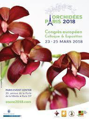 Orchidées Paris 2018