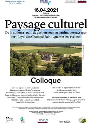 Colloque Paysage Culturel