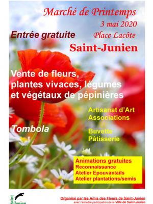Marché de Printemps 2020 à Saint-Junien