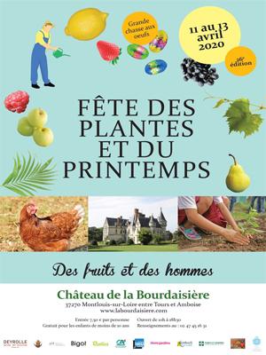 ANNULATION Fête des Plantes et du Printemps à la Bourdaisière