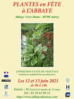 Plantes en fête à Autrey reporté aux 12 et 13 juin