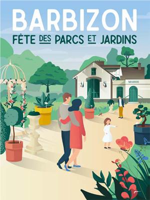 REPORTÉE - BARBIZON, Fête des Parcs et Jardins