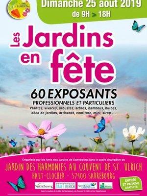 Jardins en Fête 2019 à Sarrebourg