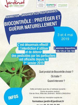 Biocontrôle jardiner éco-responsable