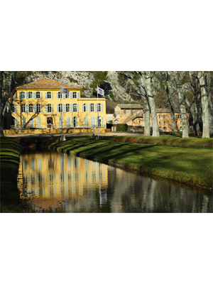 REPORTÉES: Journées d'étude sur l'eau des jardins de bastides et châteaux en Provence