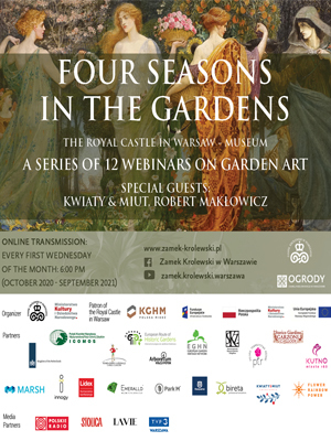 Four Seasons in the Gardens - 12 webinaires