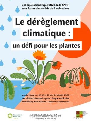 Le dérèglement climatique: un défi pour les plantes