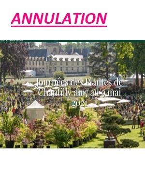Journées des Plantes de Chantilly mai 2021