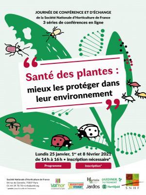 Les webinaires: Santé des plantes