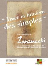 """TRACE ET LUMIÈRE DES SIMPLES"""" DE PIERRE ZANZUCCHI"""