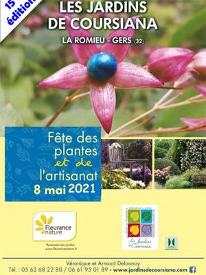 15 ème Fête des plantes et de l'artisanat 2021 - Coursiana